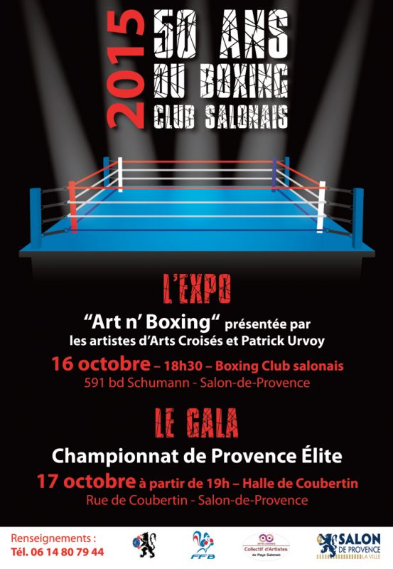Affiche Art n boxing Salon